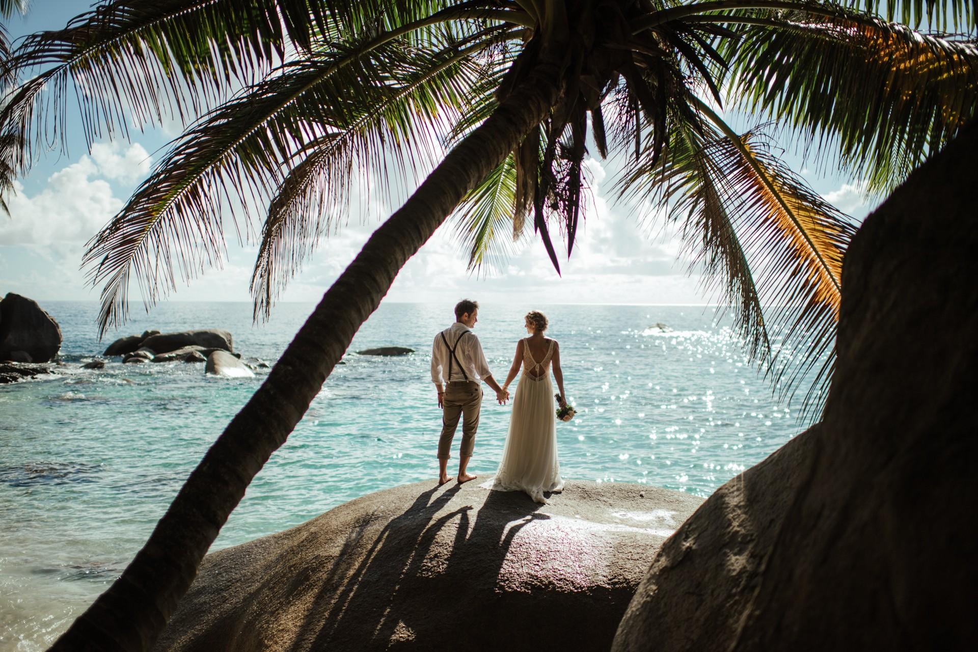 Hochzeit  Hochzeit auf den Seychellen